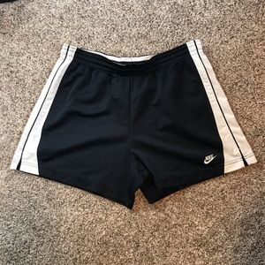 Dark Blue Nike Work Out Shorts